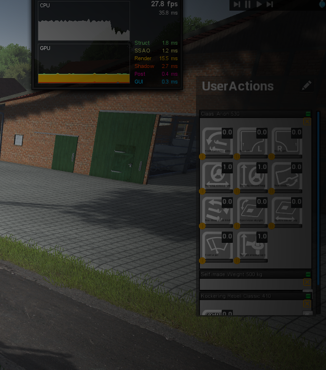 In Game FPS Counter and CPU/GPU Usage - General discussion about CNC