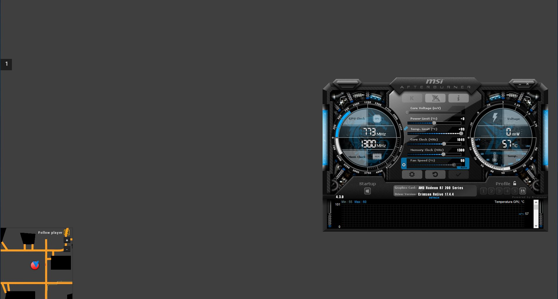 Grey screen if i use msi afterburner - Archive - Cattle and
